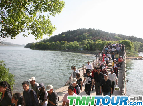 天目湖旅游 彩虹桥