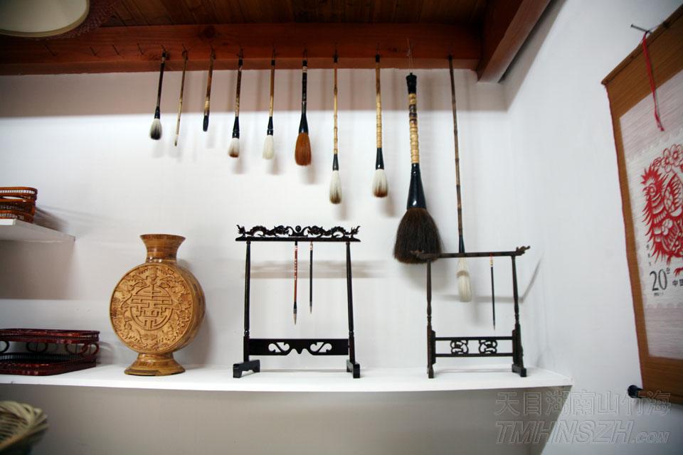 各式各样的竹制品