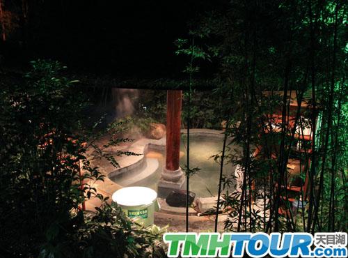 天目湖御水温泉夜公园